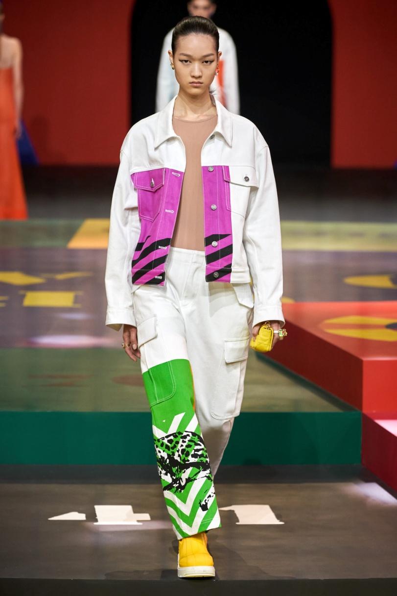 Paris 1. Dior colors on wht suit vog.jpg